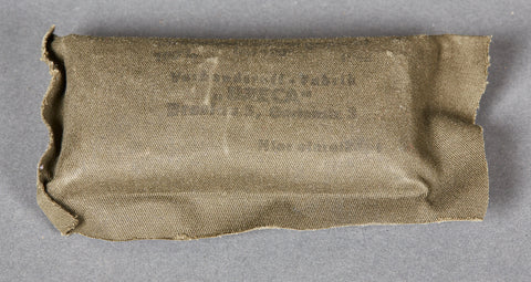 German WWII Bandage Package