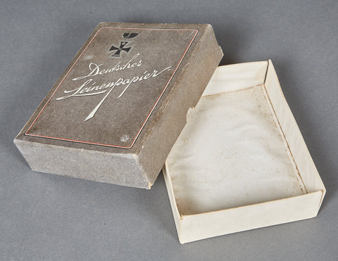 WWII German Cardboard Box for Paper