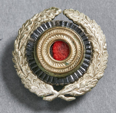 WWII German Wreath and Cockade for Postal Visor Cap
