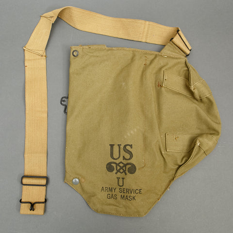 WWII US Army Service Gas Mask Bag (Only)