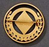 Third Reich era National Ski Championship Badge, 1936