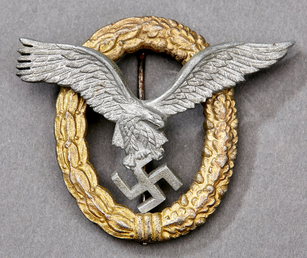 Bill Of Sale Example >> WWII German Luftwaffe Pilot/Observer Badge – The Ruptured ...
