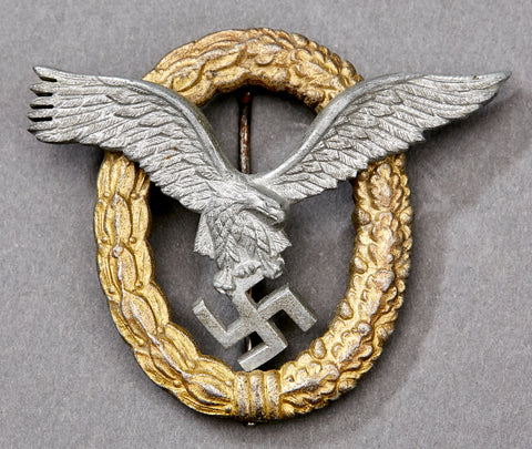 WWII German Luftwaffe Pilot/Observer Badge