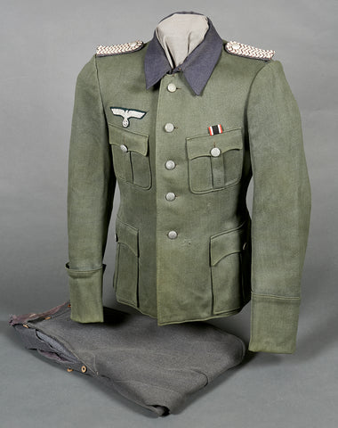 WWII German Army Sonderführer Tunic and Breeches Grouping