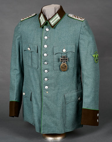 WWII German Municipal Police Service Uniform for Other Ranks Personnel