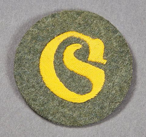 German Army WWII Specialty Patch for Motor Transport