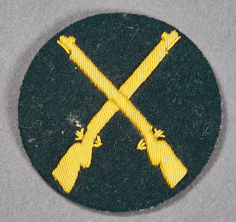 German WWII Army Specialty Patch for Rifle Qualification