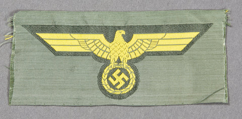 German WWII Navy Coastal Artillery Breast Eagle