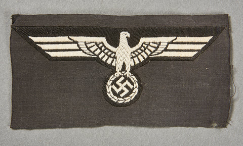 German WWII Panzer Enlisted Man's Breast Eagle