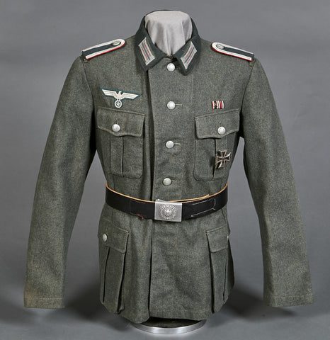 WWII German Army Artillery Combat Tunic