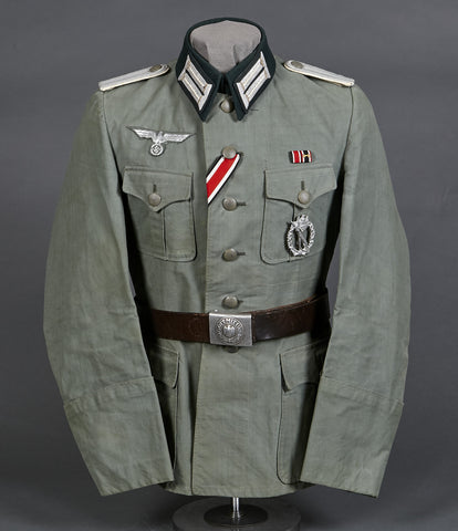 WWII German Army Infantry Officer Light Weight Summer Uniform