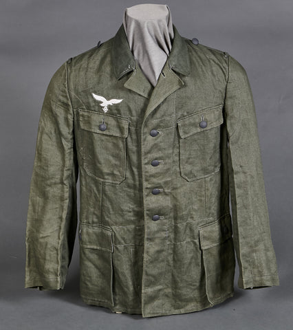 WWII German Luftwaffe HBT Tunic
