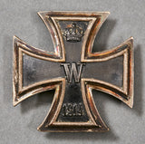 WWI German Iron Cross 1st Class, Screw Back Vaulted Example