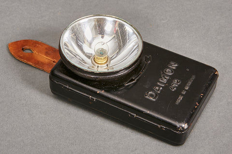 Pre-War Commercial Diamond Flash Light