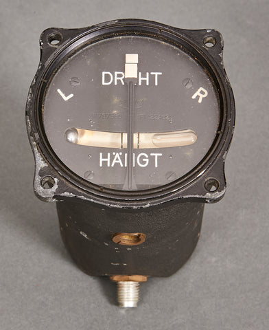 WWII German Airplane Turn and Bank Indicator