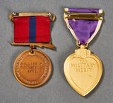 USMC Korean War era Purple Heart/Good Conduct Grouping