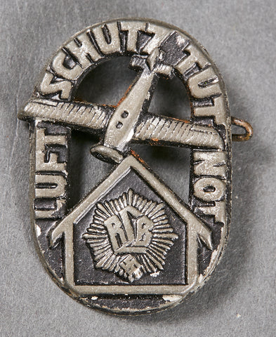 Third Reich German RLB Pin Back