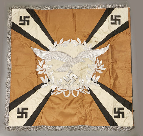 Rare and Desirable Luftwaffe Standarte for Signals Unit
