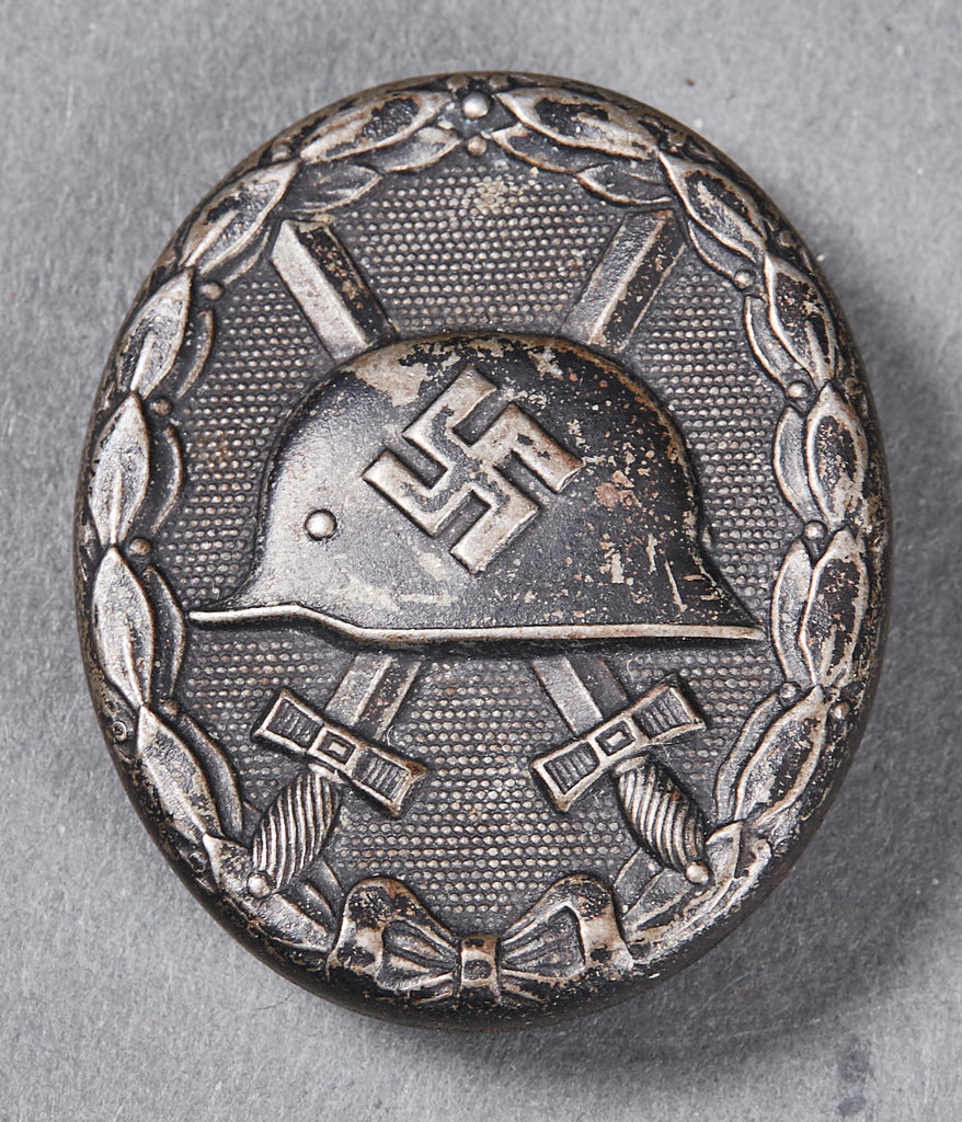 WWII German Black Wound Badge, Maker Marked L/56