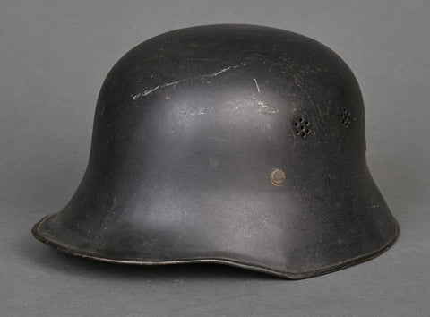 WWII German Model 1934 Fire Police Helmet