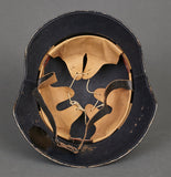 WWII German Luftschutz Model 1934 Helmet, Named