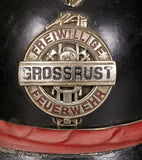 "Austrian Volunteer Fireman Parade Helmet from ""Grossrust"""