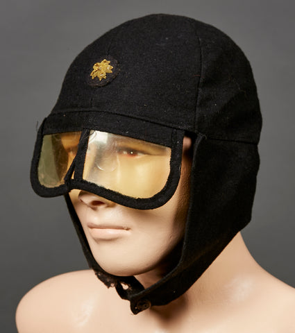 Japanese WWII Motorcyclist Hat?