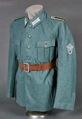 WWII German Municipal Police NCO Tunic, TeNo Marked