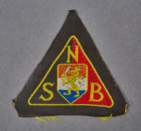 WWII Dutch NSB Party Patch
