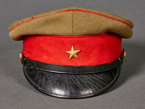 Japanese WWII Army Officer's Visor Cap