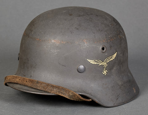 German Luftwaffe Model 1940 Single Decal Helmet