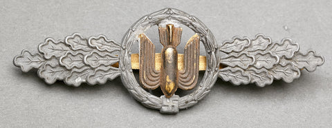 Luftwaffe Flying Clasp in Bronze for Medium, Heavy and Dive Bombers