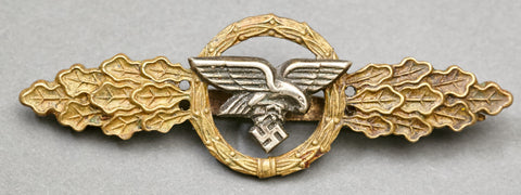 Luftwaffe Flying Clasp in Bronze for Transport and Glider Squadrons