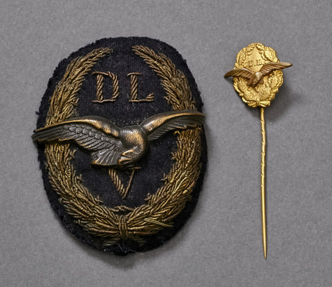 SCARCE Early German Aviation Insignia