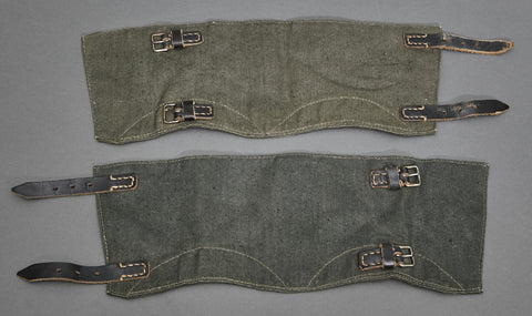 WWII German Army/Police Gaiters