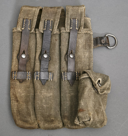 WWII German Canvas Pouch for MP/40