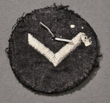 WWII German DJ Marine Sleeve Rank Chevron
