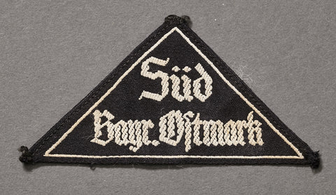 "WWII German BDM ""District"" Triangle"