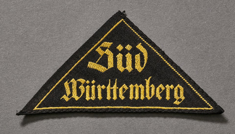 "WWII German Hitler Youth ""District"" Triangle"