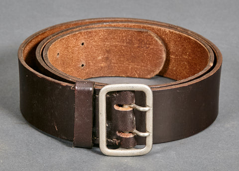 WWII German Early Political Leader Open Claw Buckle and Belt