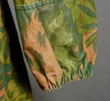 WWII German Waffen SS Model 1940 Reversible Camo Palm Pattern Smock