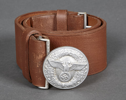 WWII German Political Leader's Judicial Official Belt and Buckle