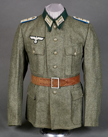 WWII German Army Model 1936 Tunic for Special Service Officer, Administrative Officer Tunic