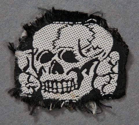 WWII German SS Cap Skull for Fez