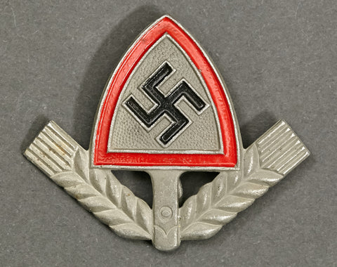 RAD Shovel Insignia for Nazi Robin Hood Cap