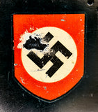 Third Reich Model 1934 Fire/Police Double Decal Helmet