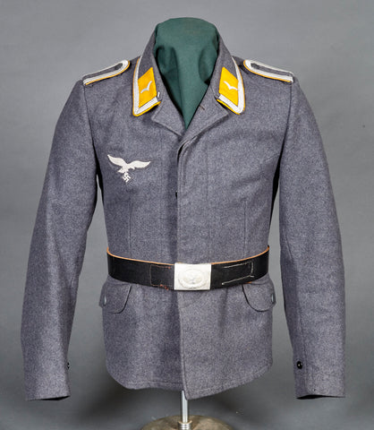 WWII German Luftwaffe Fliegerblouse for Flight/Paratroop NCO