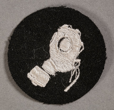 SS Trade Patch for German Gas Protection NCO