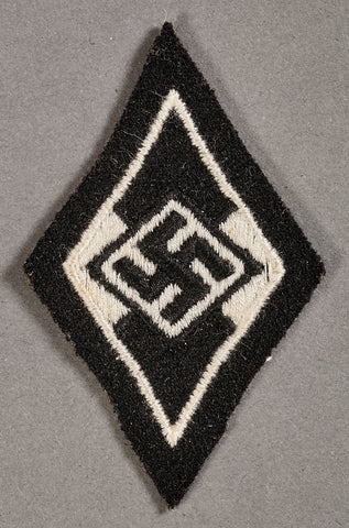SS Sleeve Triangle for German Former Hitler Youth Member