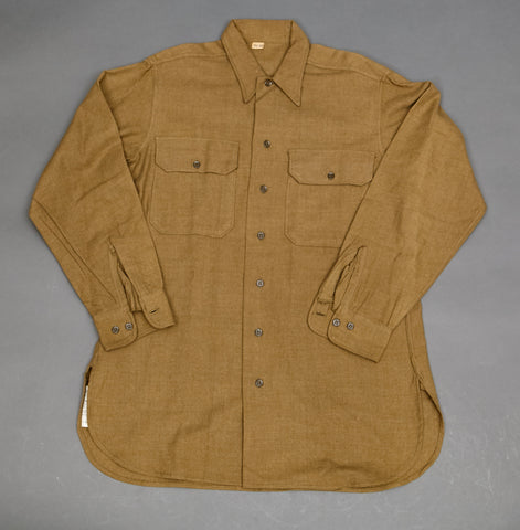 WWII US Enlisted Mans Wool Service/Combat Shirt